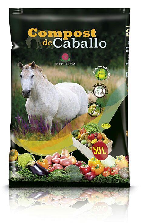 SACO DE COMPOST DE CABALLO