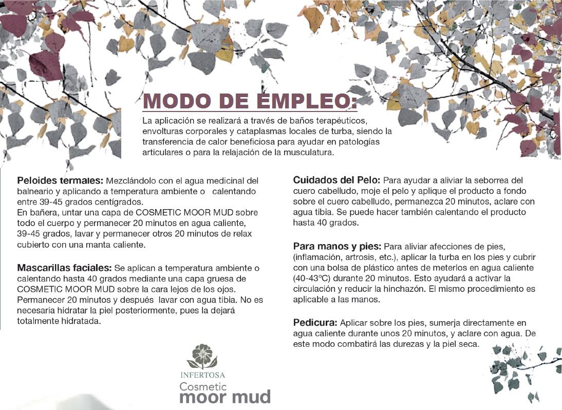 TURBA COSMETICA - MODO DE EMPLEO
